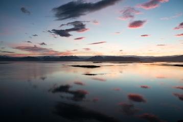 Skaftafell im Sonnenuntergang