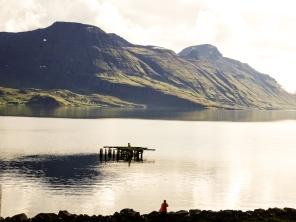 Die Bucht von Djupavik